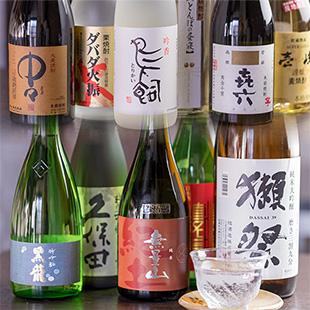 通が唸る!厳選日本酒・焼酎!のイメージ