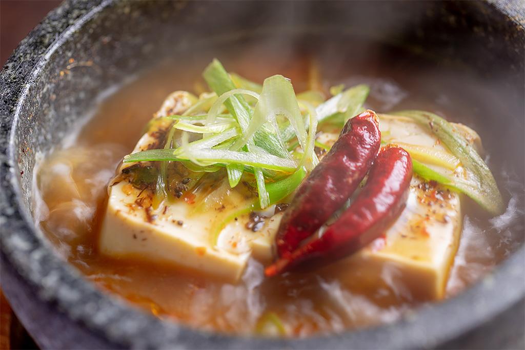 石焼地獄豆腐700円