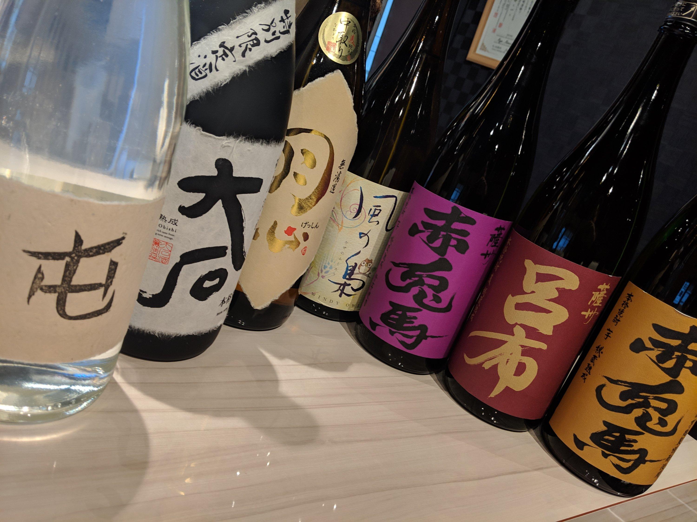 舞鶴市でこれが飲める居酒屋は弾正だけ!濱田酒造の麦焼酎「呂布」
