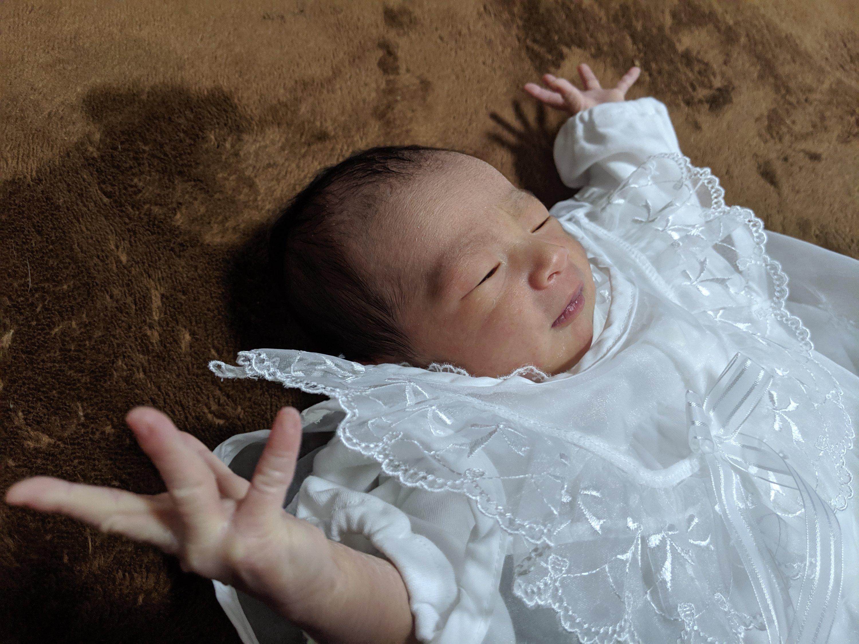 待望の女児誕生!