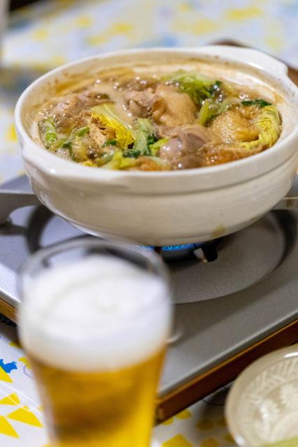 大満足保証付きの「弾正流 鶏白湯鍋」是非お試しください