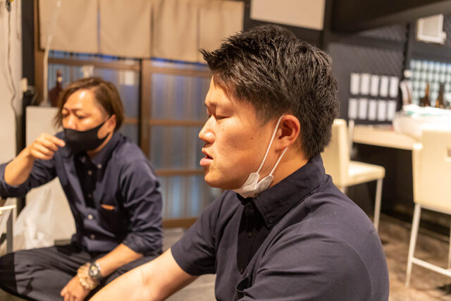 ENDEAVOR(慎考水産)の若き代表、松田様。